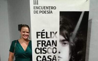 III Encuentro de Poesía Félix Francisco Casanova, 2019