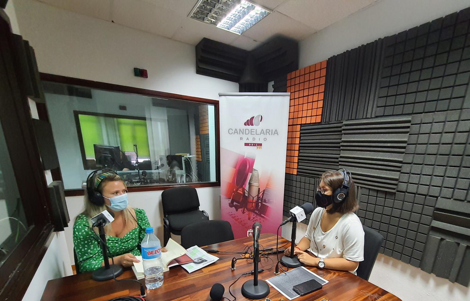 Entrevista Covadonga Garcia Fierro_Candelaria Radio