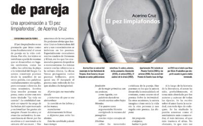 Reseña de El pez limpiafondos de Acerina Cruz, 2021